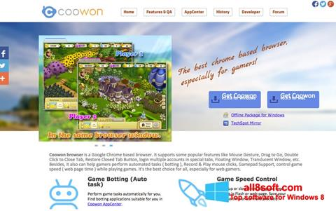 Screenshot Coowon Browser Windows 8