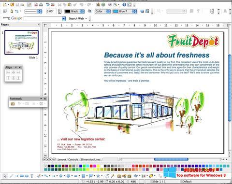 Screenshot Apache OpenOffice Windows 8