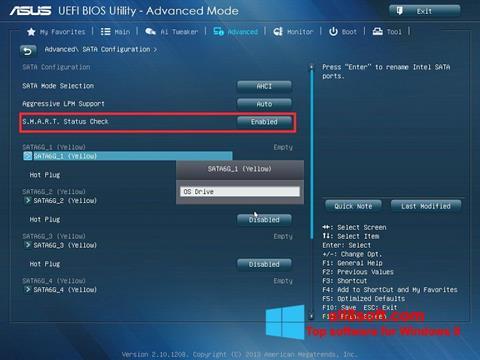 Screenshot ASUS Update Windows 8