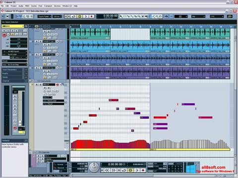 Screenshot Cubase SX Windows 8