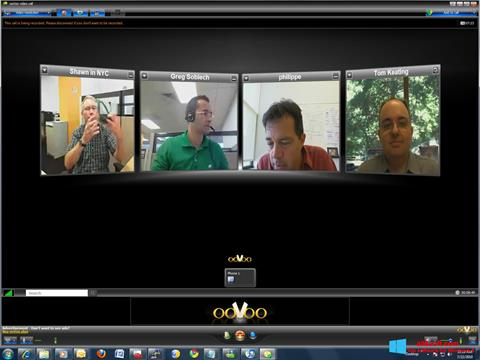 Screenshot ooVoo Windows 8