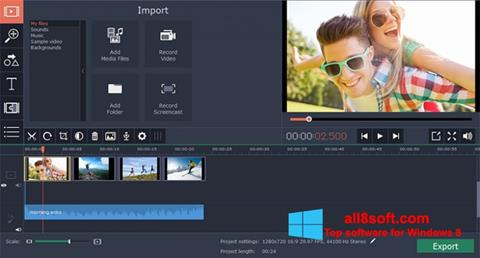 Screenshot Movavi Screen Capture Windows 8