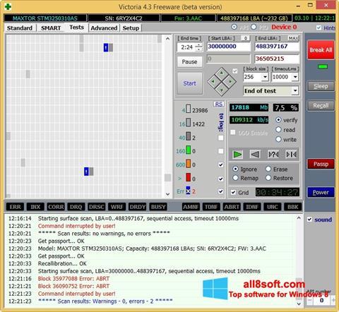 Screenshot Victoria Windows 8