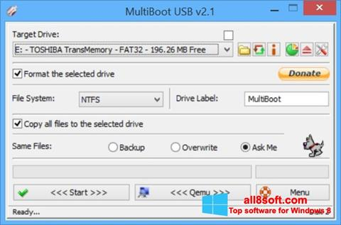 Screenshot Multi Boot USB Windows 8