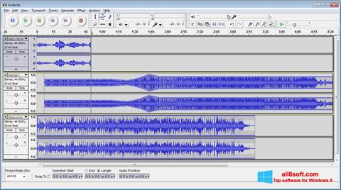 Screenshot Audacity Windows 8