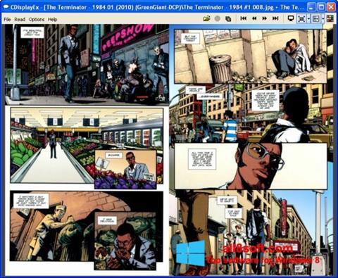 Screenshot CDisplay Windows 8
