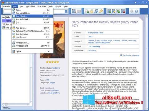 Screenshot All My Books Windows 8