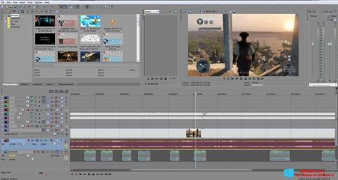 Screenshot Sony Vegas Pro Windows 8