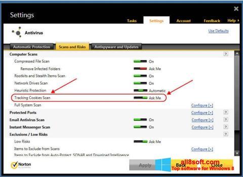 Screenshot Norton Windows 8