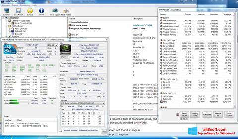 Screenshot HWiNFO Windows 8