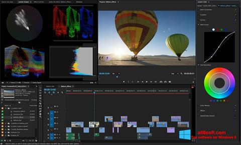 Screenshot Adobe Premiere Pro Windows 8