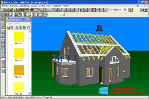 Screenshot Arcon Windows 8