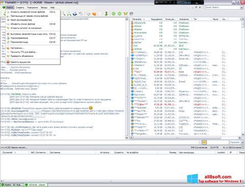 Screenshot FlylinkDC++ Windows 8
