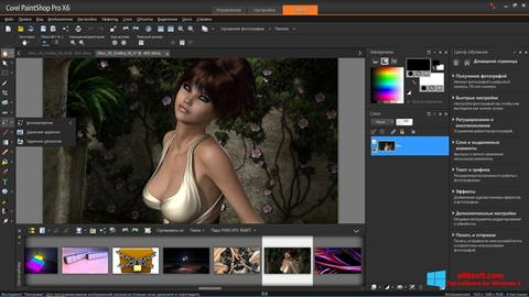 Screenshot PaintShop Pro Windows 8
