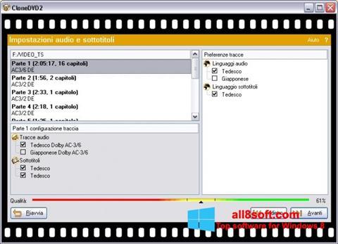 Screenshot CloneDVD Windows 8