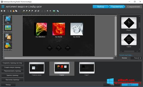 Screenshot Ashampoo Burning Studio Windows 8
