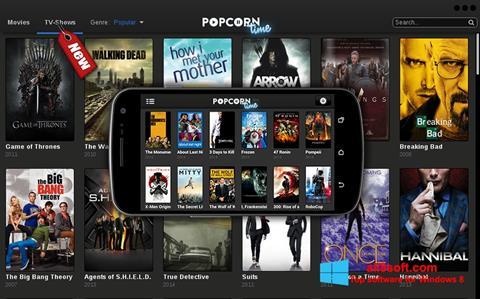 Screenshot Popcorn Time Windows 8