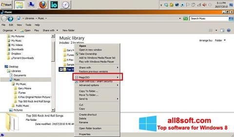Screenshot MagicISO Windows 8
