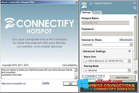 Screenshot Connectify Pro Windows 8
