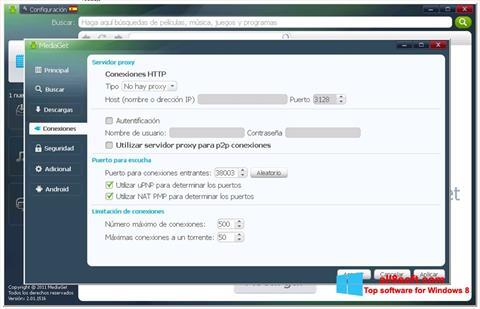Screenshot MediaGet Windows 8