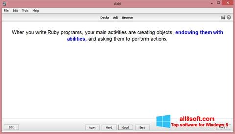 Screenshot Anki Windows 8