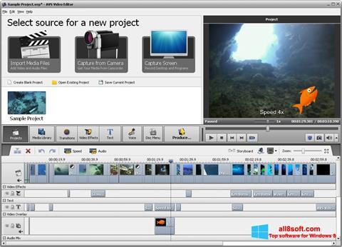 Screenshot AVS Video Editor Windows 8