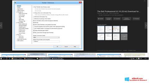 Screenshot The Bat! Windows 8