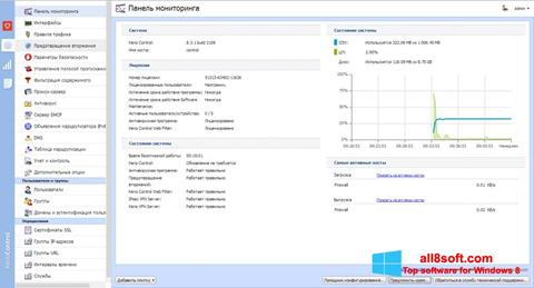 Screenshot Kerio Control Windows 8