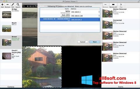 Screenshot IP Camera Viewer Windows 8