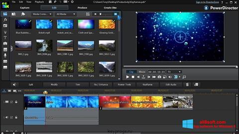 Screenshot CyberLink PowerDirector Windows 8