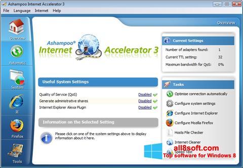 Screenshot Ashampoo Internet Accelerator Windows 8