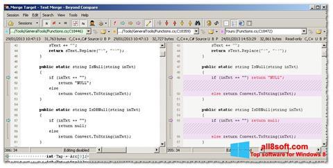 Screenshot Beyond Compare Windows 8