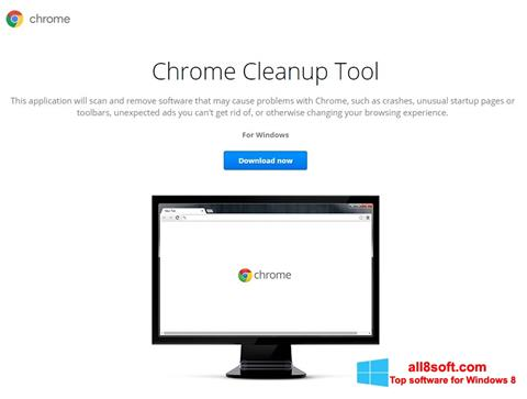 Screenshot Chrome Cleanup Tool Windows 8