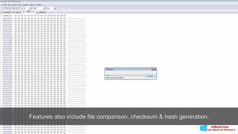 Screenshot Hex Editor Windows 8