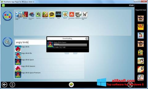 Screenshot BlueStacks Windows 8