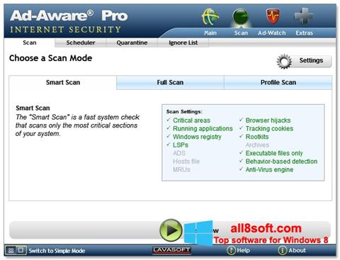 Screenshot Ad-Aware Windows 8