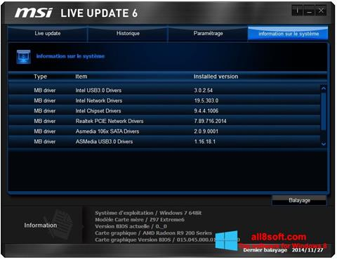 how to use msi live update 5